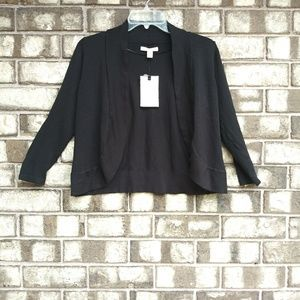 🍁Dana Butchman black short cardigan size small